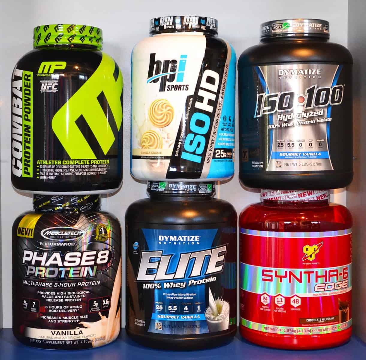 סוגים שונים של חלבון